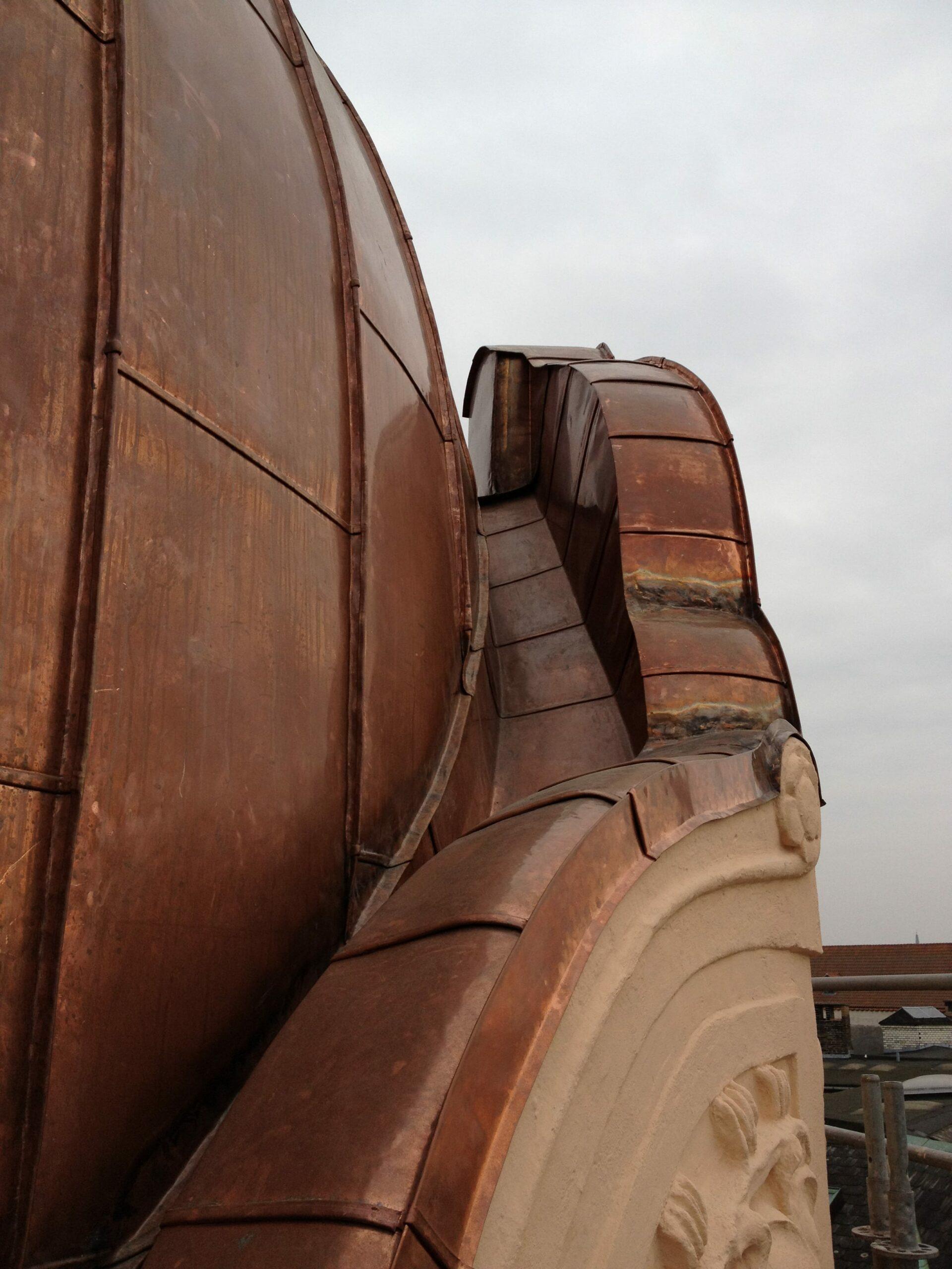 Copper scooter - Metropol