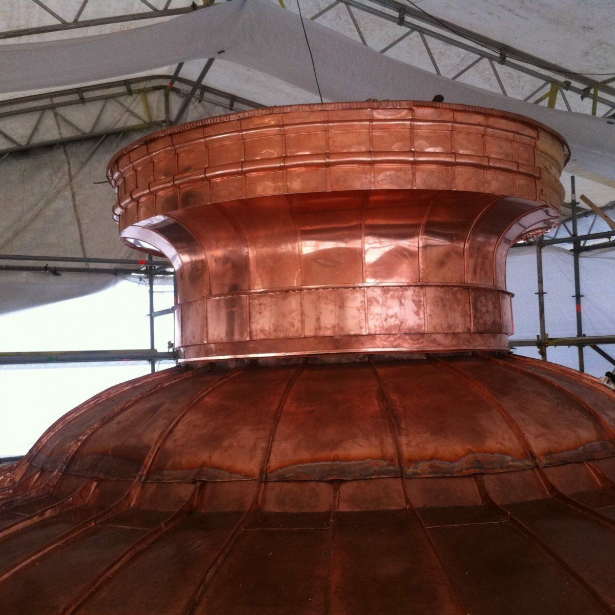 Copper tower - metropolis